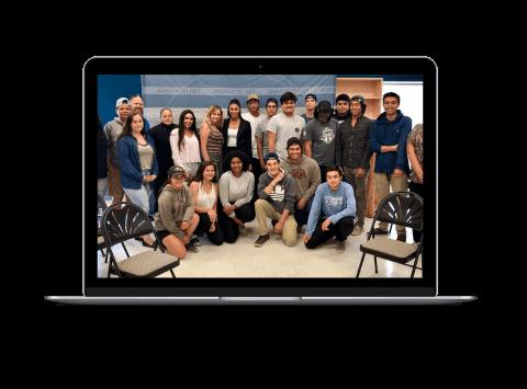 The Anishinaabek Youth Ambassadors Tech