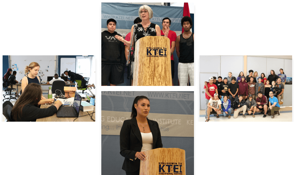 The Anishinaabek Youth Ambassadors Tech